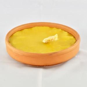 padella romana in coccio alla citronella