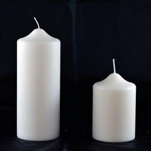 candelotti in cera per arredo